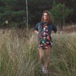 vestido con cazadora de polipiel