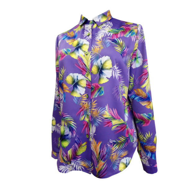 camisa violeta