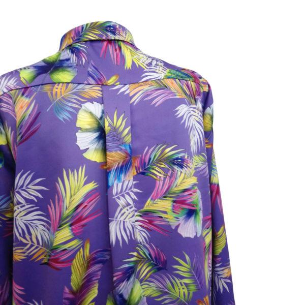 camisa xungla violeta