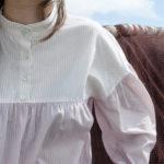 blusa de topos