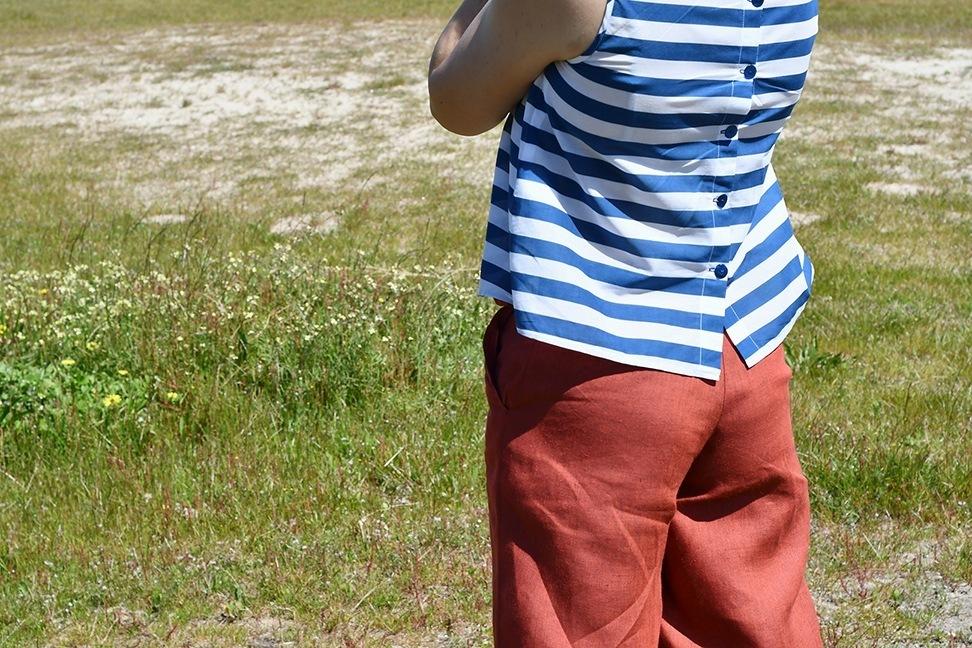 pantalón e blusa